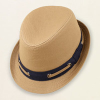 accessories - accessories - canvas fedora | Children's Clothing | Kids Clothes | The Children's Place