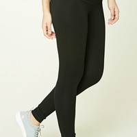 Active Folded-Waist Leggings