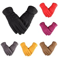 Women Men Ski Gloves Snowboard Gloves Motorcycle Riding Winter Touch Screen Snow Sports Windsproof Gloves