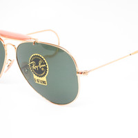 Ray-Ban RB 3030 Outdoorsman L0216 Arista Cable Sunglasses