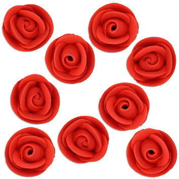 Red Icing Roses
