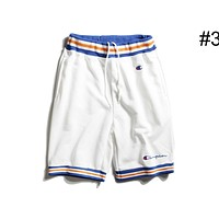 Champion summer tide brand men and women couple embroidery small logo Logo sports shorts F0457-1 #3