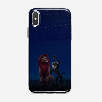 Lion King Remember Who You Are iPhone X Case