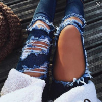 Ripped Fashion Jeans