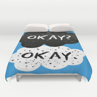 The Fault in our Stars Duvet Cover by MariBee