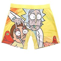 Rick & Morty Boxer Briefs - Spencer's
