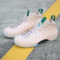"""[ Free  Shipping ]Nike Air Foamposite One """"Particle Beige""""AA3963-200  Running  Sneaker"""
