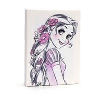 Disneyland Paris Rapunzel Canvas | Disney Store