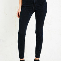 Light Before Dark Super High-Rise Skinny Jeans in Blue-Black - Urban Outfitters