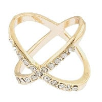 X Ring (Gold)