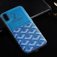 GOHARD Half Monogram Card Holder Case (BLUE)