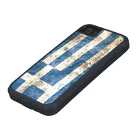 Flag of Greece iPhone 5 Covers