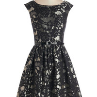 ModCloth Vintage Inspired Mid-length Sleeveless Fit & Flare Wowed and Wonderful Dress