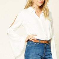 Contemporary Bell Sleeve Shirt