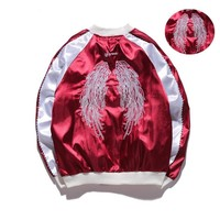 On Sale Hot Deal Sports Embroidery Winter Windbreaker Double-layered Baseball [10191548551]
