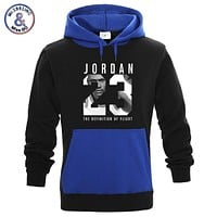 New Fashion JORDAN 23 Contrast color Hoodies Sweatshirt Men/Women Hip Hop Hoodie Men Casual Hoody Pullover sudaderas para hombre