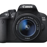 Canon EOS 700D Digital SLR Camera – (EF-S 18-55mm f/3.5-5.6 IS...