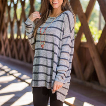 Pure And Sweet Sweater, Gray
