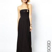 ASOS TALL Bandeau Maxi Dress