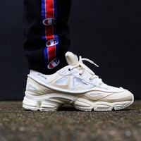 Best Online Sale Raf Simons x Adidas Consortium Ozweego 2 III Retro Sport Smart Running Shoes Bunny Cream Trainers Shoes S81161