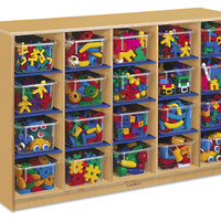 Classic Birch 20-Cubby Storage Unit at Lakeshore Learning