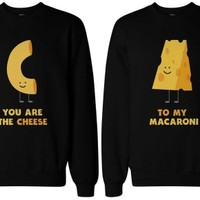 Cute Macaroni and Cheese BFF Sweatshirts - 365 Printing Inc