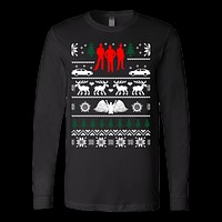 Supernatural ugly christmas sweater xmas