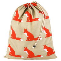 Anorak Red Fox Laundry Bag