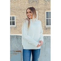 Living in Luxury Sweater - Ivory