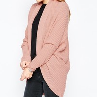 ASOS Chunky Cardigan In Cocoon Shape