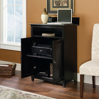 Walmart: Sauder Edge Water SmartCenter Cabinet, Estate Black