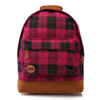 Mi-Pac Backpack - Pink Plaid