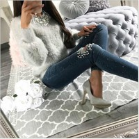 2018 New Autumn Fashion Women Clothing Warm Winter Casual Long Sleeve O-Neck Solid Sweater Loose Plus Size Velvet Sweater Tops