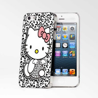 Black And Whiite Hello Kitty iPhone 4s iphone 5 iphone 5s iphone 6 case, Samsung s3 samsung s4 samsung s5 note 3 note 4 case, iPod 4 5 Case
