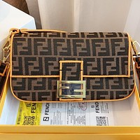 Fendi  New Fashion More Letter Shoulder Bag Crossbody Bag