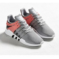 Adidas Equipment EQT Support ADV Fashion Women Men Comfortable Running Sports Shoes Sneakers Grey Pink I