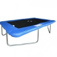 New Outdoor Rectangle 10*7 Ft Trampoline Sports Game with Blue Frame Pad:Amazon:Sports & Outdoors