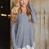 Happily Ever After Tunic - Ivory Trim