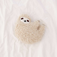 Furry Sloth Pillow | Urban Outfitters