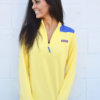 Vineyard Vines Basic Shep Shirt- Cold Lemon