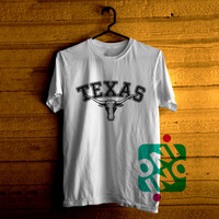 Texas Longhorn Logo Tshirt For Men / Women Shirt Color Tees