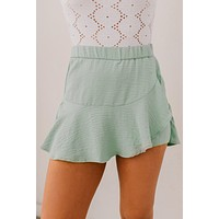 Just Dance Textured Skort (Mint)