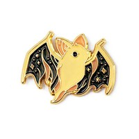 Ghost Bat Pin - Dark