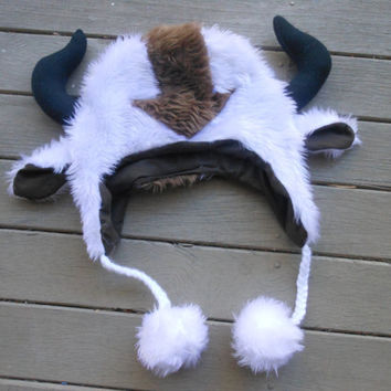 Appa Hat from Avatar The Last Airbender by ManyAHats on Etsy