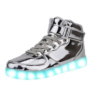 Cool Fun Light Up LED Shoes Sneaker 7 Colors USB Charging