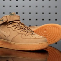 "Nike Air Force 1 Mid 715889-200 ""Flax"""