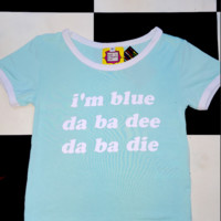 SWEET LORD O'MIGHTY! IM BLUE RINGER TEE