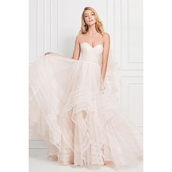 Wtoo by Watters 12800 Maisie Strapless Sweetheart Ruffle Ball Gown Wedding Dress
