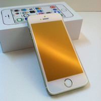 iPhone 5/5s/5c Champagne Gold GlassShield Luxury Screen Protection
