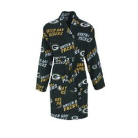 Green Bay Packers Wildcard Ladies Microfleece Robe